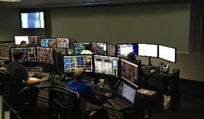 Control Room Command Center Without Video Wall