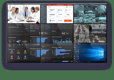 Control Room videowall