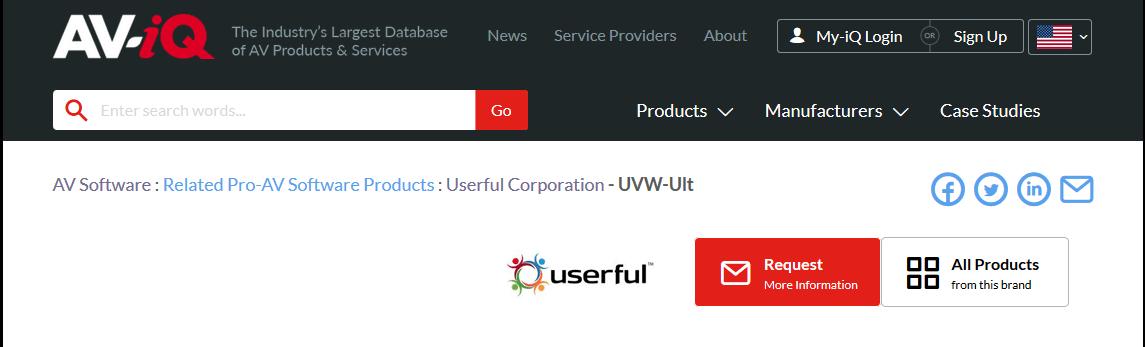 Userful Ultimate Licence in AV-iQ