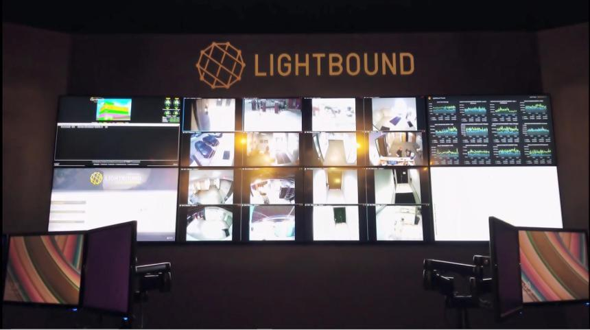 Lightbound Control Room Command Center Network Operations Center Video Wall