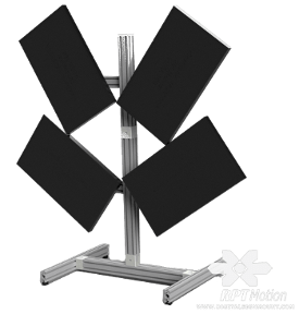 RPT QVT-WD100 Artistic Video Wall Mount View 2