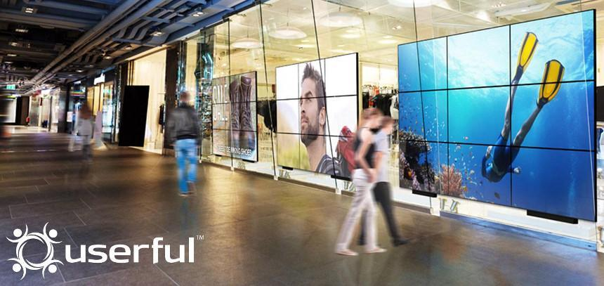 Userful Retail Video Wall