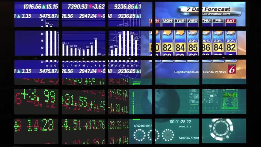 Userful Video Wall Multi Window